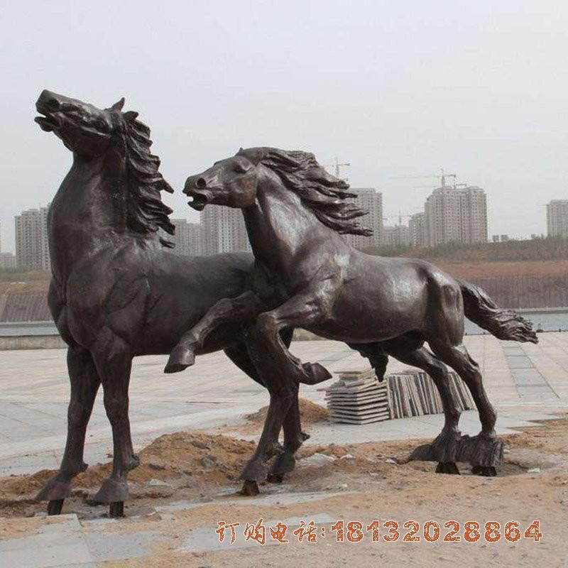 铜雕马广场动物铜雕[1][1]
