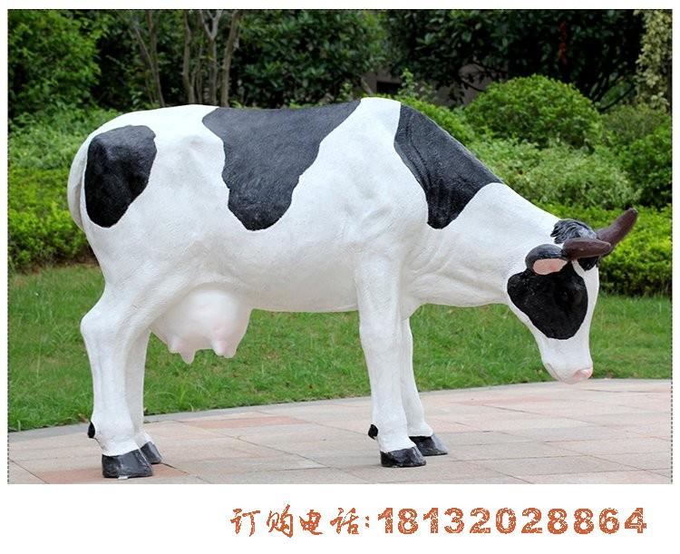 仿真奶牛必威体育娱乐 玻璃钢动物必威体育娱乐