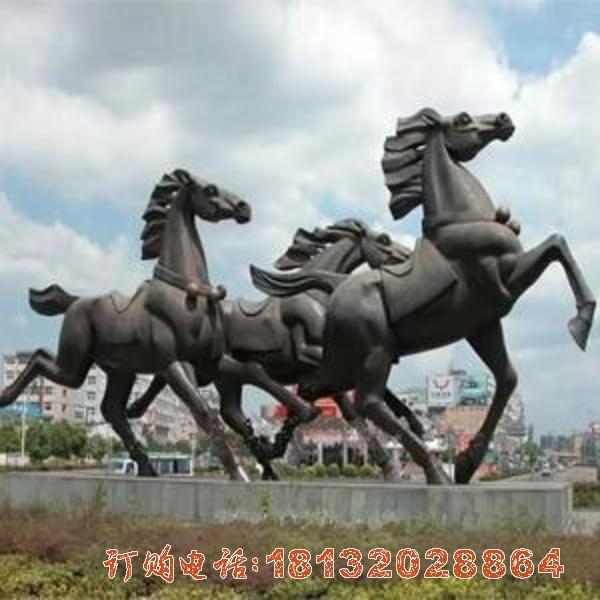 奔马必威体育娱乐 铜雕动物