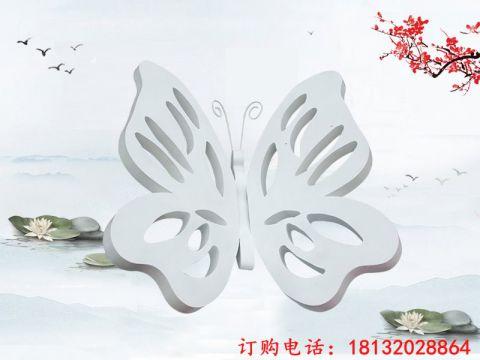 大理石镂空蝴蝶