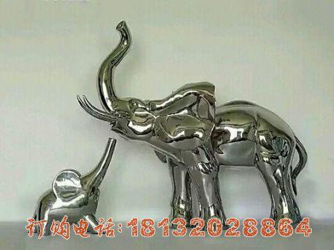 不锈钢母子大象必威体育娱乐