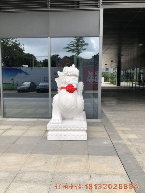 广西汉白玉貔貅案例