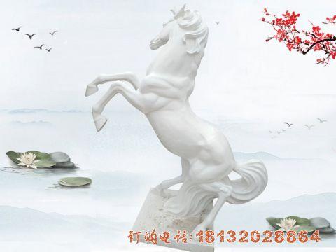 汉白玉立马石雕