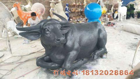 贵州玻璃钢仿铜牛必威体育娱乐案例