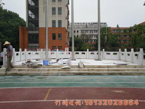 南京汉白玉升旗工程