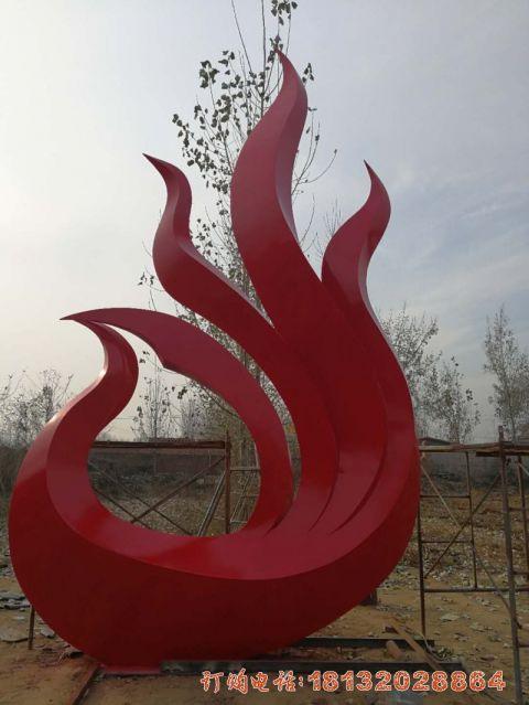 安徽不锈钢抽象凤凰效果图