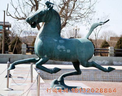 广场马踏飞燕铜雕