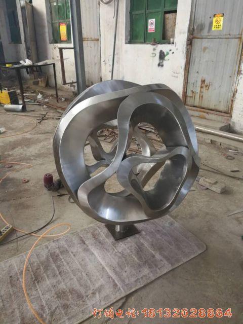 哈尔滨不锈钢抽象球项目