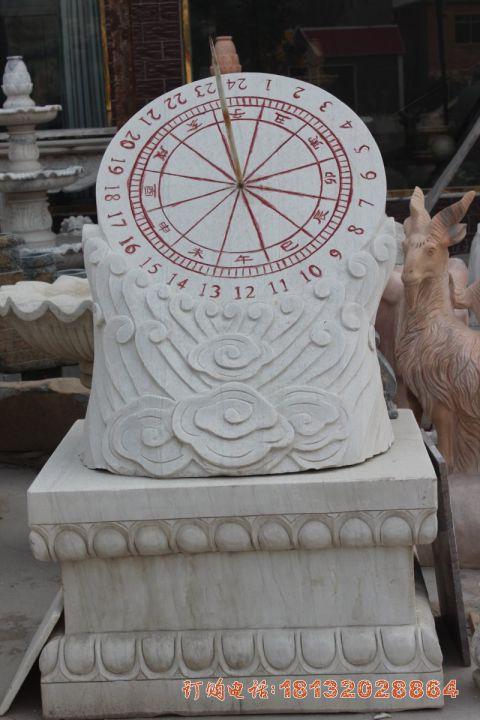 汉白玉日晷