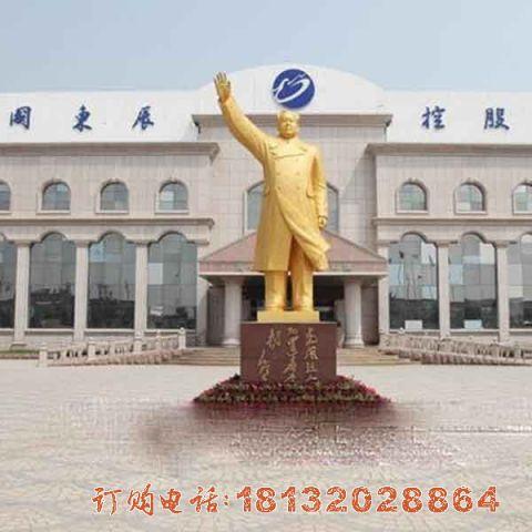 毛泽东铜雕