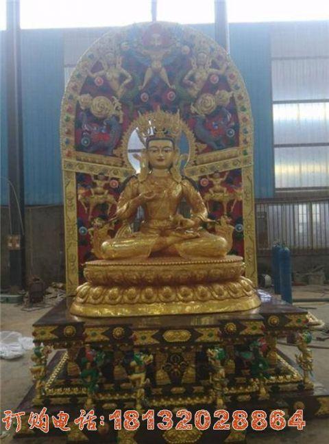 藏佛像铜雕