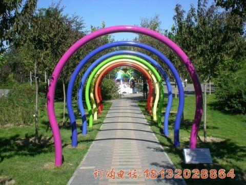 不锈钢彩虹拱门