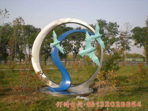 不锈钢圆环和平鸽必威体育娱乐