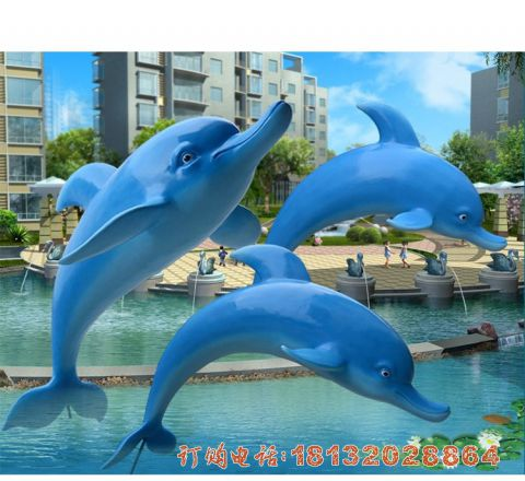 玻璃钢跳跃的海豚必威体育娱乐