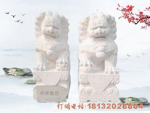 汉白玉北京狮