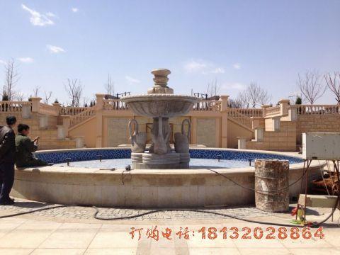 欧式喷泉石雕