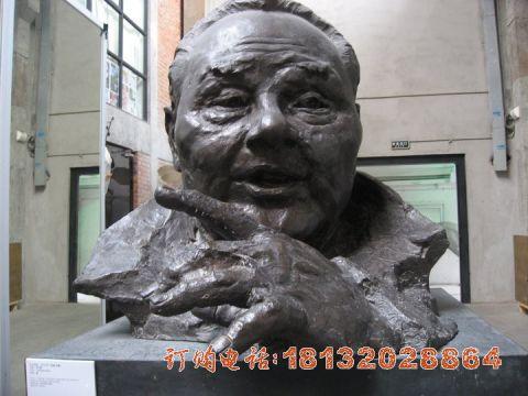 邓小平头像铜雕