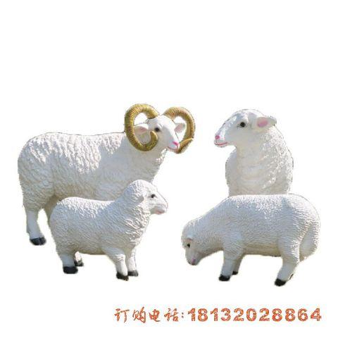 玻璃钢山羊