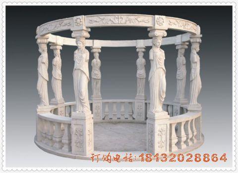欧式凉亭石雕
