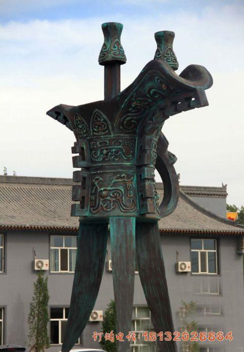 大型青铜酒樽