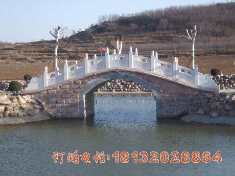 公园拱桥石雕