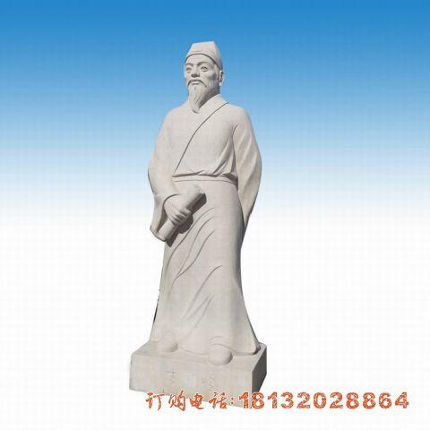 古代人物石雕华佗
