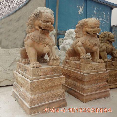 北京狮子石雕