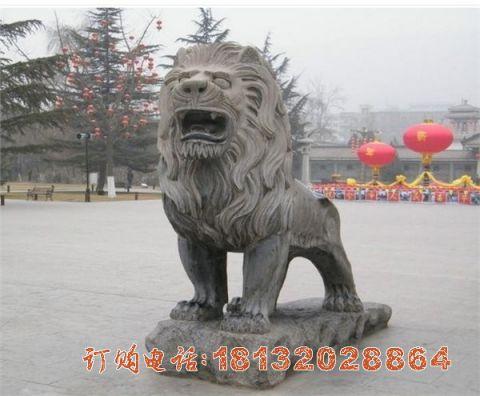 仿古西洋狮子石雕
